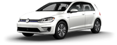 2019 Volkswagen e-Golf lease special in New York City