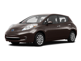 2016 Nissan LEAF lease special in Detroit