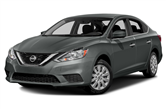 2017 Nissan Sentra lease special in Detroit