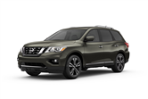 2016 Nissan Pathfinder lease special in Detroit
