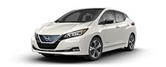 2019 Nissan LEAF lease special in Charlotte