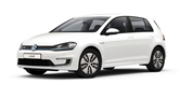 2016 Volkswagen e-Golf lease special