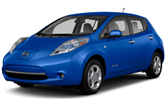 2016 Nissan LEAF lease special in Kansas City